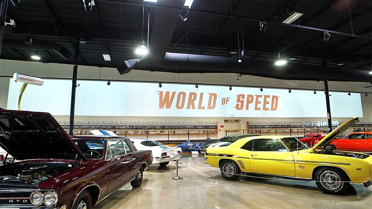 Photo of World of Speed video wall